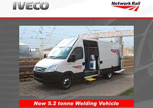 Network Rail Projects - iveco daily flyer