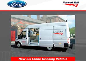 Network Rail Projects - ford transit flyer